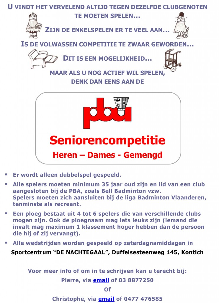Seniorencompetitie2013